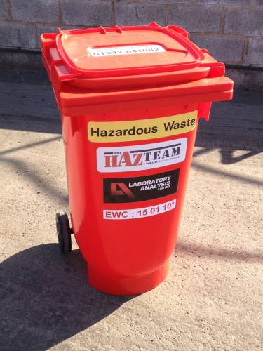 Un Approved Red Bins For Hazardous Waste Disposal